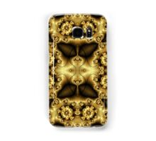 Gold and Brown Cell Phone Case Samsung Galaxy Case/Skin