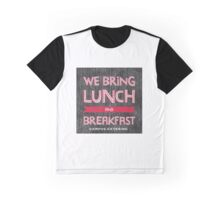 WE BRING LUNCH CC Graphic T-Shirt
