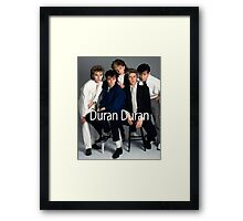 Duran Duran Vintage Framed Print