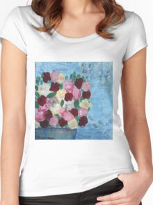 Springtime Women's Fitted Scoop T-Shirt