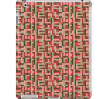 Line Block Pattern iPad Case/Skin