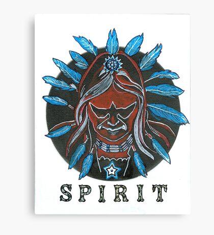 Hawk spirit Canvas Print