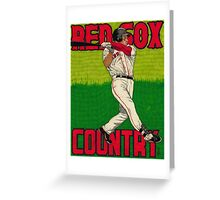 RED SOX COUNTRY Greeting Card