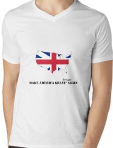 Make America Great Britain Again Mens V-Neck T-Shirt