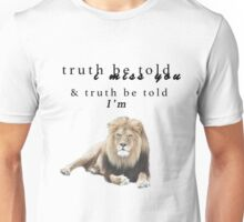Gives you hell/ I'm lion Unisex T-Shirt