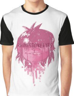 RHINESTONE EYES Graphic T-Shirt