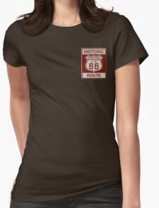 Grover Route 66 Womens Fitted T-Shirt
