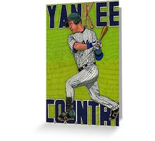 YANKEE COUNTRY Greeting Card