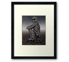 Patient Death Framed Print