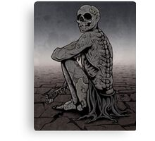 Patient Death Canvas Print