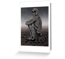Patient Death Greeting Card