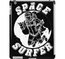 space surfer black iPad Case/Skin