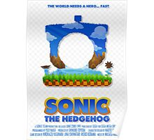 Sonic The Hedgehog 1 Poster