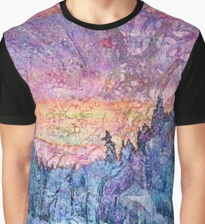 Hyperborean Landscape 2 Graphic T-Shirt