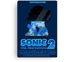 Sonic The Hedgehog 2 Canvas Print
