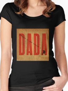Personne ne peut échapper à DADA .3 Women's Fitted Scoop T-Shirt