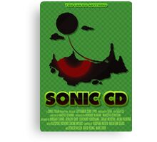 Sonic CD Canvas Print