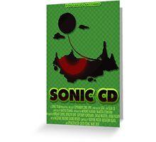 Sonic CD Greeting Card