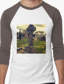 Celtic Cross Men's Baseball ¾ T-Shirt