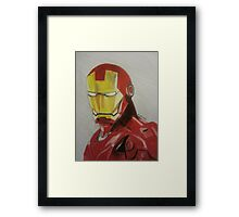 Super Hero Illustration 1 Framed Print