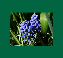 Baby Blues - Grape Hyacinths Womens Fitted T-Shirt