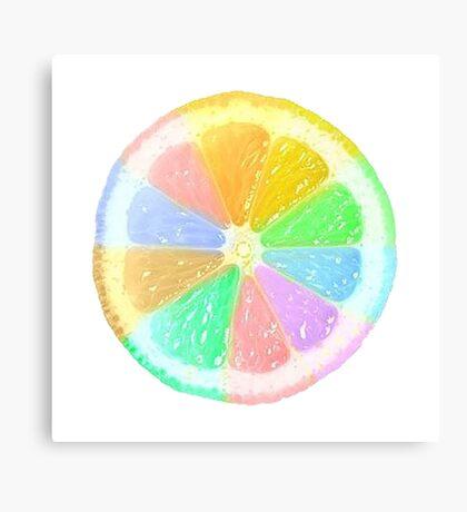 Colourful Orange Canvas Print