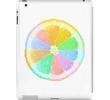 Colourful Orange iPad Case/Skin
