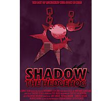 Shadow The Hedgehog Photographic Print