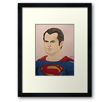 Super Hero Illustration 5 Framed Print