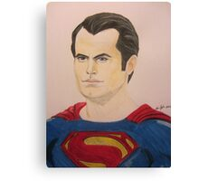 Super Hero Illustration 5 Canvas Print