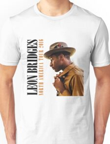 hits LEON BRIDGES COMING HOME TOUR LOGO 2016 estr T-Shirt