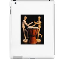 Dance to the Beat of Your Own Drum iPad Case/Skin
