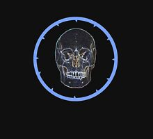 Skull in blue circle T-Shirt
