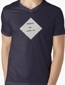 President Bartlet's Campaign Starter! Mens V-Neck T-Shirt