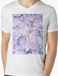 Purple dissolve  Mens V-Neck T-Shirt