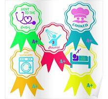 Accomplishment Awards Poster