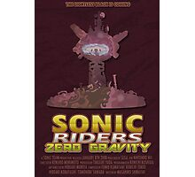 Sonic Riders Zero Gravity Photographic Print