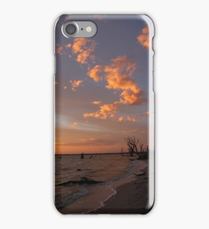 Lake Bonney Sunset iPhone Case/Skin