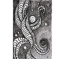 Pen and ink drawing Cosmos Photographic Print