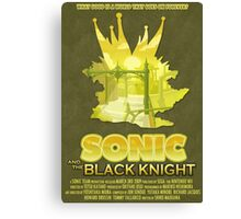 Sonic & The Black Knight Canvas Print