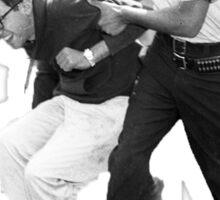 Bernie Sanders Arrested 1963 Sticker