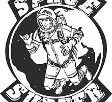 space surfer crest by Vana Shipton