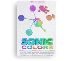 Sonic Colors Canvas Print