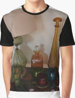 GLASS BOTTLES Graphic T-Shirt