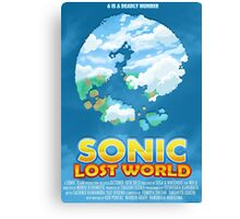 Sonic Lost World Canvas Print