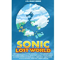 Sonic Lost World Photographic Print