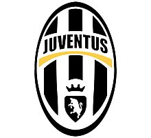 Juventus Black and White Photographic Print