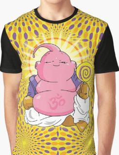 Buddha Buu Psychedelic Graphic T-Shirt