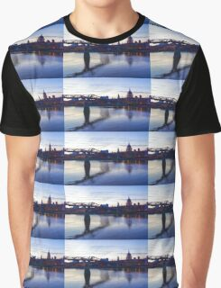Impressions of London in Purple Graphic T-Shirt