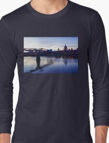 Impressions of London in Purple Long Sleeve T-Shirt